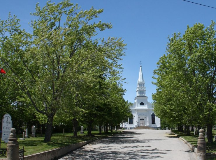 Church in the Spring